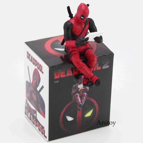 Deadpool Dead pool Taco  2 Mini PVC Action Figure Collectible Model Toy Computer Screen Decoration Doll 6cm AT_70_6