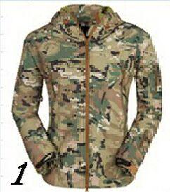 Trendy Tactical Motorcycle Jackets Waterproof Racing Jersey Camouflage Hunting Camping Thermal Fleece Lining Coat Mountain Wear jacket AT_94_13
