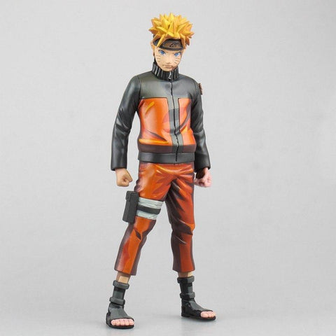 Naruto Sasauke ninja WVW 25CM Hot Sale Anime Heroes  Uzumaki  Model PVC Toy Action Figure Decoration For Collection Gift   AT_81_8