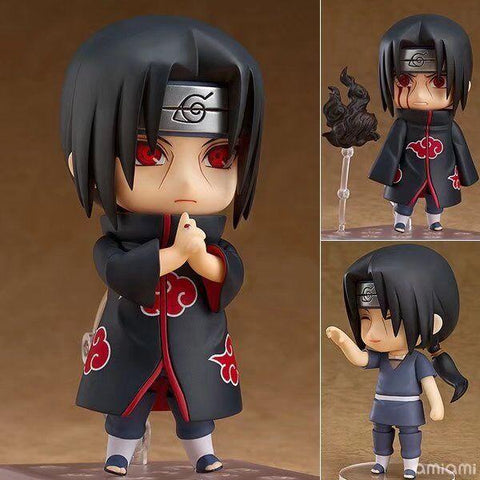Naruto Sasauke ninja Tobyfancy  Shippuden Anime Figure Uchiha Itachi Nendoroid 820# ITACHI PVC 10CM Collection Model Toy AT_81_8
