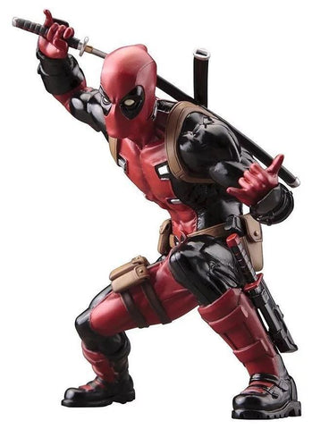 Deadpool Dead pool Taco Kotobukiya Marvel X-men  PVC 16cm Action Figure Toys AT_70_6