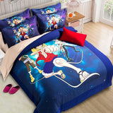 Anime Naruto one piece Bedding Set Single Twin/Queen 3pcs/4pcs bedding set with pilloccase +bed sheet+Duvet Cover for kids room