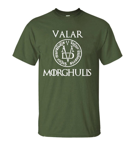 Winter Game of Thrones GOT Valar Morgulis All Men Must Die Valyrian  Tshirt 2018 Summer Casual Men's T Shirt 100% Cotton  T-Shirts S-XXL AT_77_7
