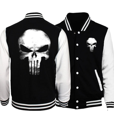 Trendy Hot Sale Plus Size Men Jackets 2018 Spring Baseball Uniform Batman 2/ The Flash/ Deadpool/ The Punisher Hip Hop Men Coat S-5XL AT_94_13