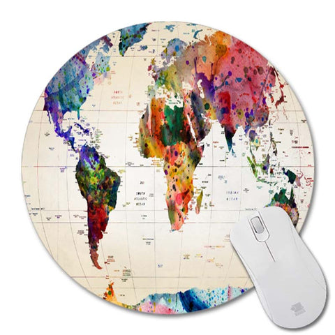 Map New Small Size Round Mouse Pad Non-Skid Rubber Pad – (Animetee Map Pad on bed map, key map, fan map, poetry map, pa map, seat map, strip map, los angeles city map, owl and mouse map, stroke map, map map, mac map, iphone map, wall map, link map,