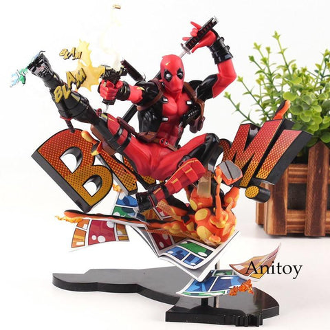 Deadpool Dead pool Taco Marvel Action Figures Marvel Universe BLAM!  Figure Toys  Breaking the Fourth Wall Statue Figurine 20cm AT_70_6
