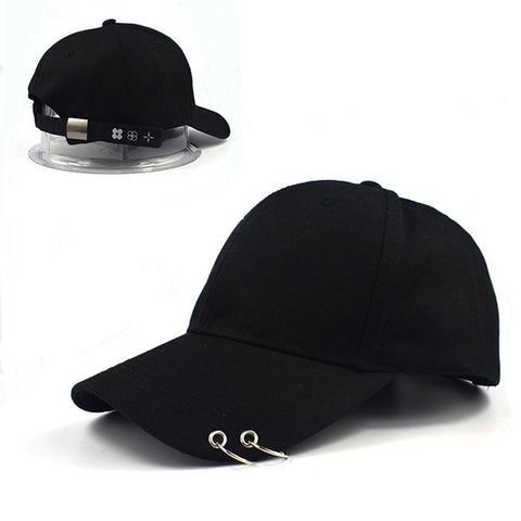 Trendy Winter Jacket 2018 BTS LIVE THE WINGS TOUR cap dad hat Hot sale Fashion K POP 100% hand made Iron Ring Hats Adjustable Baseball cap  AT_92_12