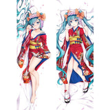 Amellor Japanese anime Hatsune Miku pillow cover body life-sized pillowcase 3D Double-sided Bedding Body Hugging pillow Case