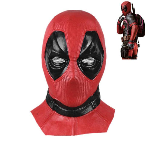 Deadpool Dead pool Taco Movie  2 mask latex full face masks cosplay  costume accessories Halloween props AT_70_6