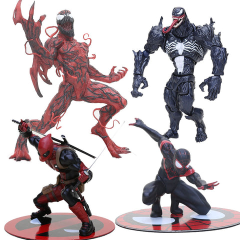 13cm avengers spiderman New Deadpool with Weapon sword Nowi Artfx Statue  PVC action Figure Model Toys bc22be60aba6