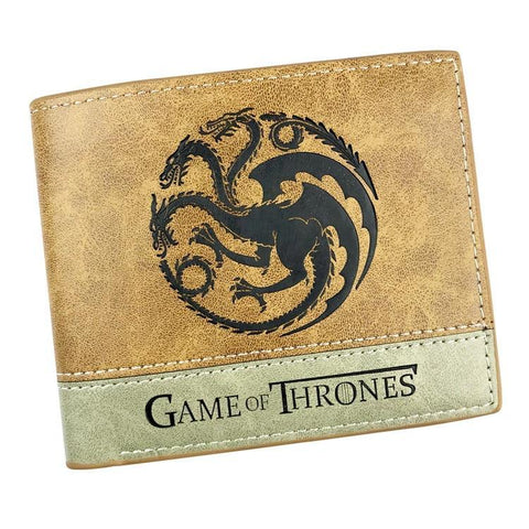 Winter Game of Thrones GOT Cartoon wallets  Harry Potter  Rick and Morty   y mixed color men and women short wallet AT_77_7