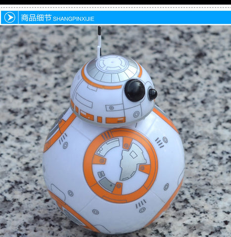8.5cm Star Wars The Force Awakens BB8 BB-8 Robot Action Figures PVC brinquedos Collection Figures toys for christmas gift - Animetee - 3
