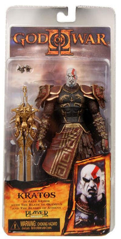 18cm God of War 2 II Weapons Sword Kratos in Ares Armor Action Figures PVC brinquedos Collection Figures toys with Retail box - Animetee - 3