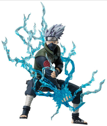 16cm Naruto Ninja Hatake Kakashi Lightning  Action Figures Anime PVC brinquedos Collection Figures toys with Retail box - Animetee