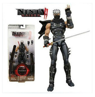 18CM Player Select Ninja Gaiden II Ryu Hayabusa Action Figures PVC brinquedos Collection Figures toys with Retail box