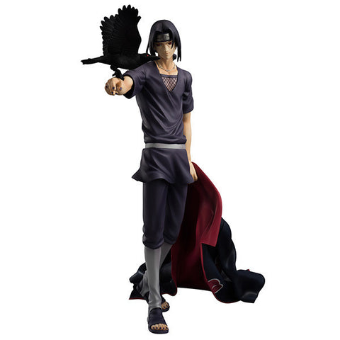 27cm Naruto Shippuden Uchiha Itachi Action Figures Anime PVC brinquedos Collection Model toys Free shipping AnnO00650N - Animetee