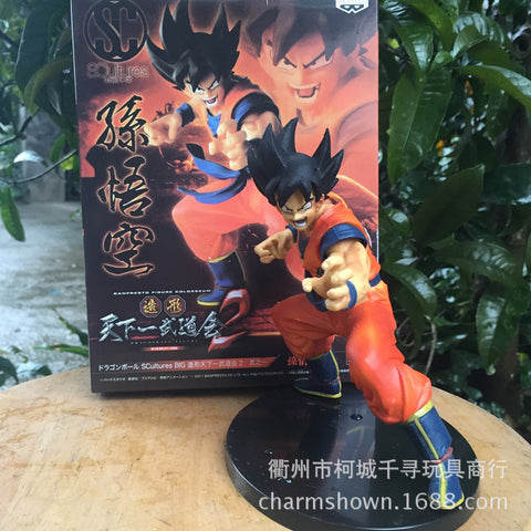 16cm Monkey King Goku Dragon Ball Z Action Figure PVC Collection toys for christmas gift brinquedos Collectible with Retail box - Animetee