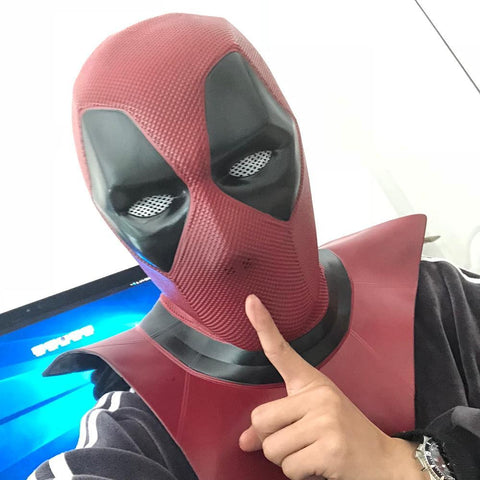 Deadpool Dead pool Taco 2018 New Moive  2 Mask Breathable PVC Full Face Mask Halloween Cosplay Props  Hood Helmet On Sale!!! AT_70_6