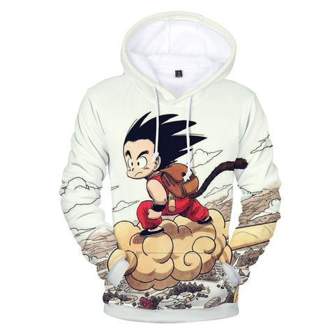 Dragon ball Dragonball capsule BTS Anime  Z Super Saiyan Goku Men Long Sleeve 3D Hoodies Men/Women Kawaii Print Hoodies Men Fashion Harajuku Clothes AT_85_9