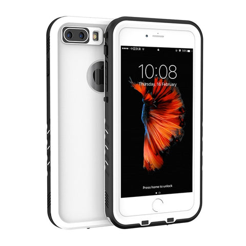 release date 1bef5 7eb99 FLOVEME Classic Waterproof Phone Case For iPhone 7 7 Plus 7Plus Cases  Fashion Water Proof Phone Cover For iPhone 8 8 Plus Fundas