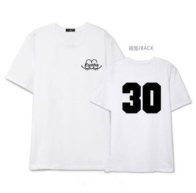 2016 summer kpop girl friend gfriend L.O.L member name printing short sleeve t shirt  sinb enhua t-shirt lovers tees