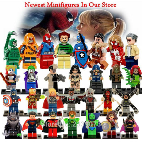 Deadpool Dead pool Taco Doll Legoing Super Heroes Figure Toy Spiderman Batman Superman Iron Man Toy For Children   Legoings Marvel Figure Blocks AT_70_6