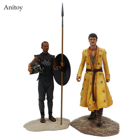 Winter Game of Thrones GOT  Oberyn Martell & Gary Worm PVC Action Figure Collectible Model Toy 20.5/23.5cm KT4224 AT_77_7