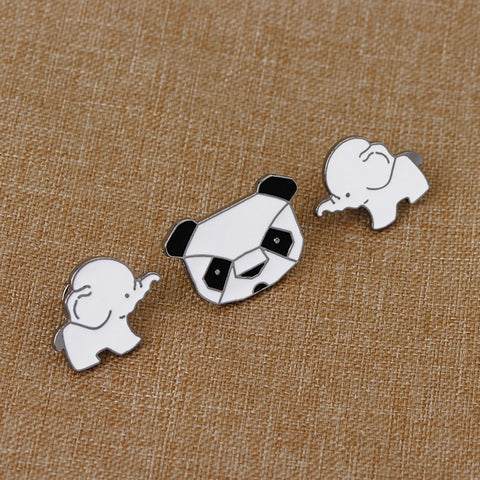1 Pcs Cartoon Sheep Metal Badge Brooch Button Pins Denim Jacket Pin Jewelry Decoration Badge For Clothes Lapel Pins Home & Garden Arts,crafts & Sewing