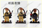 2016 new Baby Toys ghostbuster minifigures DIY building block Bricks figures classic toys Educational Toys Compatible with lego 80's - Animetee - 12