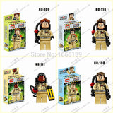2016 new Baby Toys ghostbuster minifigures DIY building block Bricks figures classic toys Educational Toys Compatible with lego 80's - Animetee - 3