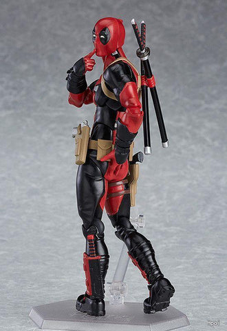 Deadpool Dead pool Taco Marvel 15cm X-MAN Figma 353  BJD PVC Action Figure Model Toys AT_70_6