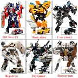 2016 Hot toys Transformation 4 Robots Cars Brinquedos Action Figures Toys Classic kids toys for boys juguetes for gifts Toy - Animetee - 123