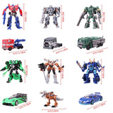 2016 Hot toys Transformation 4 Robots Cars Brinquedos Action Figures Toys Classic kids toys for boys juguetes for gifts Toy - Animetee - 7