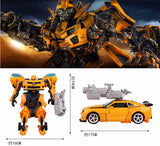 2016 Hot toys Transformation 4 Robots Cars Brinquedos Action Figures Toys Classic kids toys for boys juguetes for gifts Toy - Animetee - 119