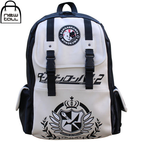 Anime Dangan Ronpa danganronpa Monokuma Cute School Backpack Shoulder Bag - Animetee - 1