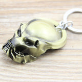 1PC New Arrival Predator Alien hunter Metal Keychain Pendant Fashion Key Chain Chaveiro Key Ring For Men hwd 80's - Animetee - 2