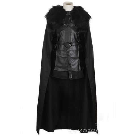 Winter Game of Thrones GOT plus size halloween costumes for men adult s  s Cosplay Costume Jon Snow  daenerys targaryen men adult Knight Role AT_77_7