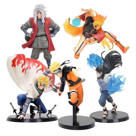 Naruto Sasauke ninja  Figure Ninja Hyuuga Hinata Hyuga Figure Uzumaki  Kurama Jiraiya GEM PVC Action Figure Toy Collection Model Gift AT_81_8