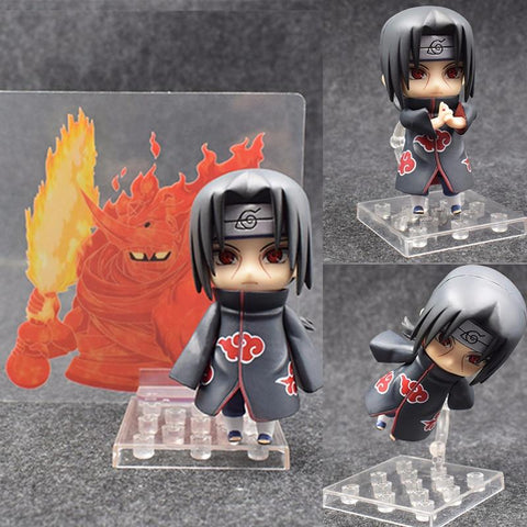 Naruto Sasauke ninja Nendoroid  Figure Shippuden Uchiha Itachi 820 PVC Action Figures Collectable Model Toy Doll Birthday Gift AT_81_8