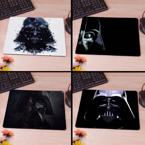 Darth Vader Star Wars Computer Mouse Pad Mousepads Decorate Your Desk Non-Skid Rubber Pad hwd 80's - Animetee - 1