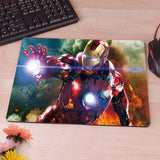 Ironman Iron Man Tony Starks War  Computer Mouse Pad Mousepad Decorate Your Desk Non-Skid Rubber Pad hwd celebs - Animetee - 4