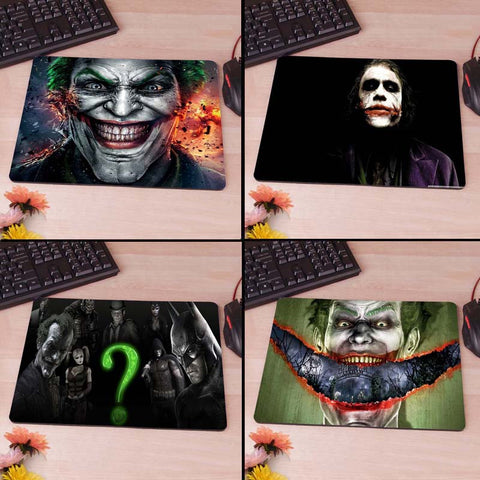 Dark Knight Batman Heath Ledger The Joker Computer Mouse Pad Mousepad Decorate Your Desk Non-Skid Rubber Pad hwd celebs - Animetee - 1