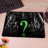 Dark Knight Batman Heath Ledger The Joker Computer Mouse Pad Mousepad Decorate Your Desk Non-Skid Rubber Pad hwd celebs - Animetee - 3