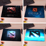 Blue Style Dota2 LOGO Computer Mouse Pad Mousepad Decorate Your Desk Non-Skid Rubber Pad - Animetee - 1