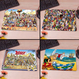 Asterix and Obelix Computer Mouse Pad Mousepad Decorate Your Desk Non-Skid Rubber Pad - Animetee - 1