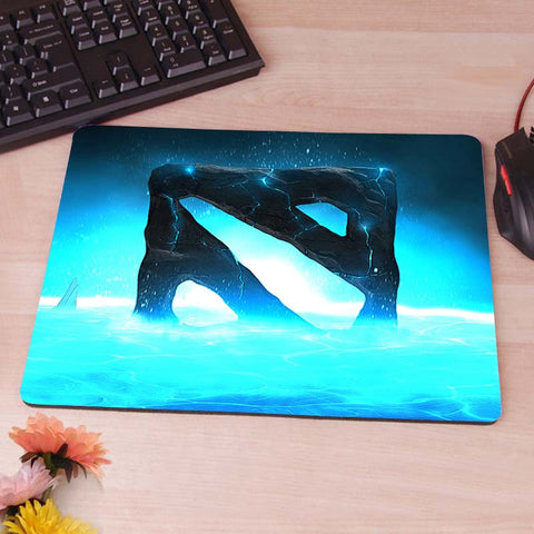 Blue Style Dota2 LOGO Computer Mouse Pad Mousepad Decorate Your Desk Non-Skid Rubber Pad - Animetee - 8