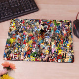 Asterix and Obelix Computer Mouse Pad Mousepad Decorate Your Desk Non-Skid Rubber Pad - Animetee - 2