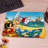 Asterix and Obelix Computer Mouse Pad Mousepad Decorate Your Desk Non-Skid Rubber Pad - Animetee - 9