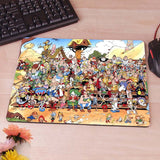 Asterix and Obelix Computer Mouse Pad Mousepad Decorate Your Desk Non-Skid Rubber Pad - Animetee - 8
