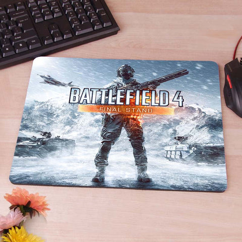 Battlefield 2 3 4 xbox ps2 3 4 final stand  Computer Mouse Pad Mousepad Decorate Your Desk Non-Skid Rubber Pad - Animetee - 2
